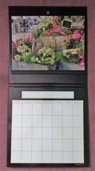 Puzzle with calendar