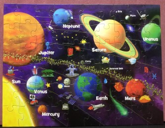 Solar System (Glow in the Dark) - MasterPieces - 60 pieces