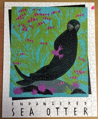 Endangered Sea Otter - Decipher Inc. - 500 pieces