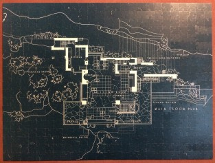 Fallingwater Blueprint