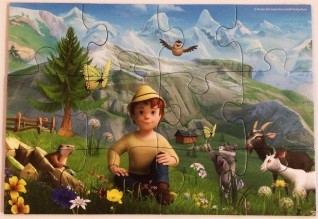 The Story of Heidi in the Alps - Ravensburger - 12 pieces