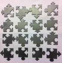 All 16 pieces