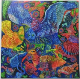 Birds by Jane Tattersfield - Liberty Puzzles - 509 pieces