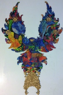 Birds (Alternate Solution) by Jane Tattersfield - Liberty Puzzles - 509 pieces