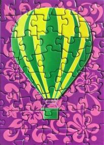 Hot Air Balloons - Purple