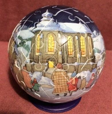 Christmas Eve Puzzleball