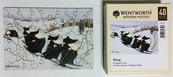 Skiing - box