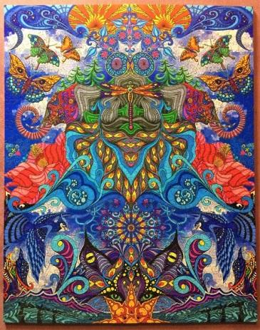 Sugar Magnolia by Phil Lewis - Liberty Puzzles - 881 pieces