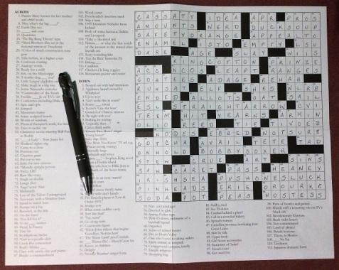 Crossword Jigsaw 1