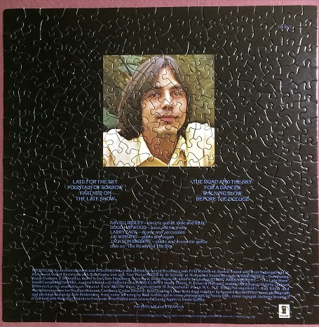 Jackson Browne Late for the Sky B