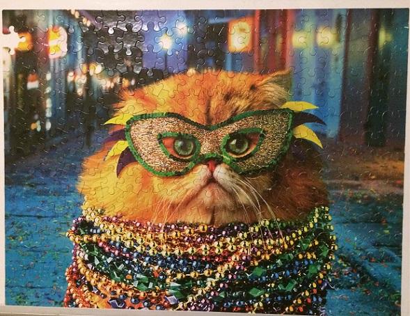 Fluffy Mardi Gras