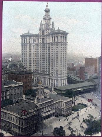 Municipal Bldg. NY - Pastime Puzzles? - 1600 pieces