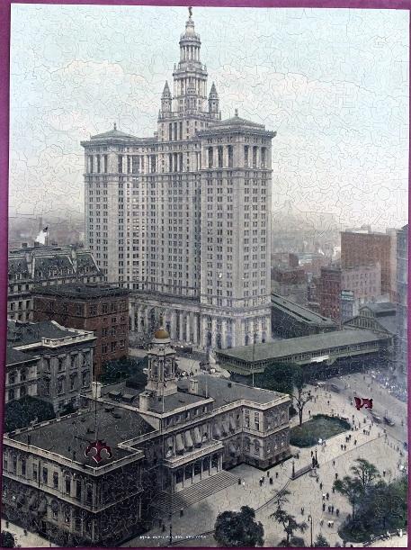 Mystery Puzzle Municipal Bldg. NY