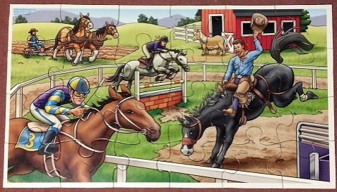 Horses - Patch Products - 24 pieces
