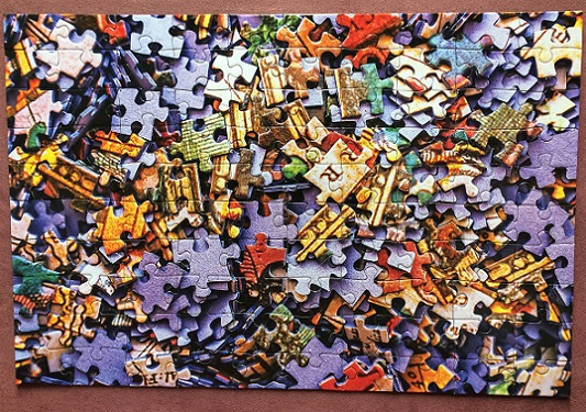 Puzzle of a Puzzle