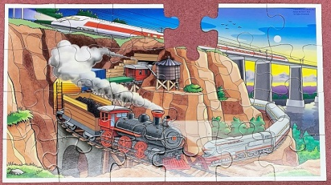 Trains - Patch Products - 24 pieces