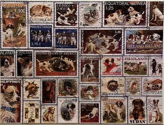Dog Stamps