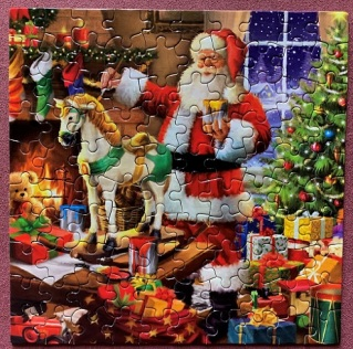 Last Minute Santa - Ceaco - 100 pieces