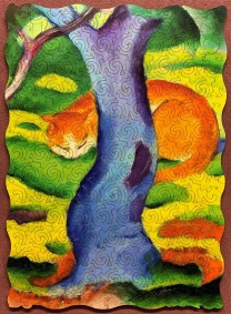 Cat by Franz Marc - Artifact - 138 pieces