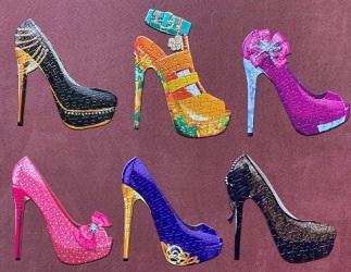 Shoes - Lafayette Puzzle Factory (Cra-Z-Art) - 500 pieces